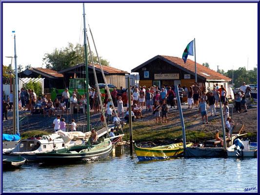 Pinasse, pinassotte et bateaux à voiles