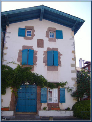 Aïnoha : vieille maison basque (Pays Basque français)