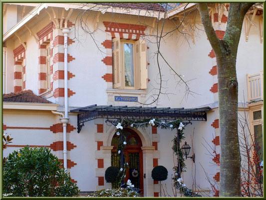 """Villa """"La Walkyrie"""" en """"Ville d'Hiver"""" à Arcachon"""