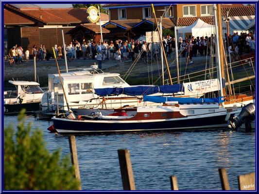 Pinasse, bateaux à voiles, voiliers, etc... et la fête !