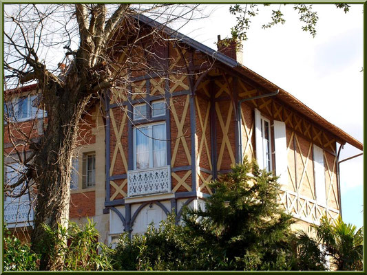 """Villa """"Sillery"""" en """"Ville d'Hiver"""" à Arcachon"""