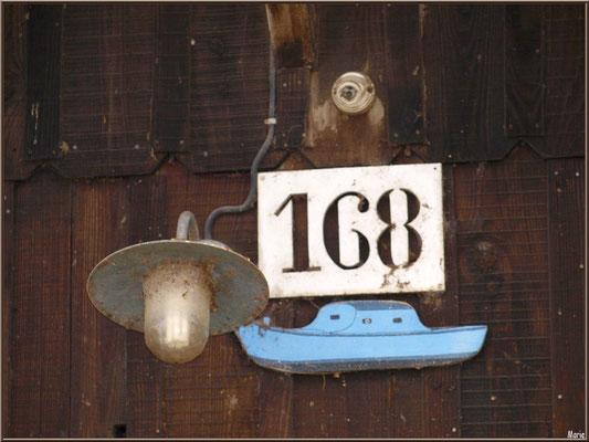 Cabane 168, détail