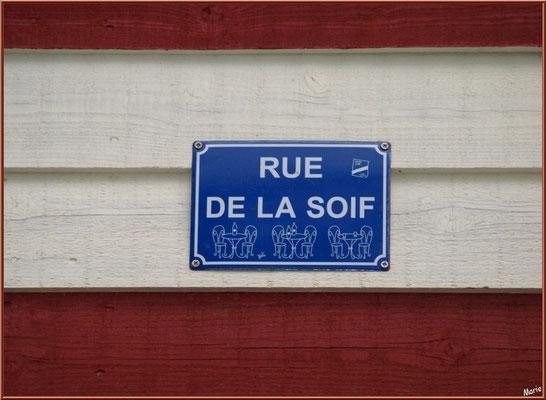 """""""Rue de la Soif"""" au port de Biganos (Bassin d'Arcachon)"""