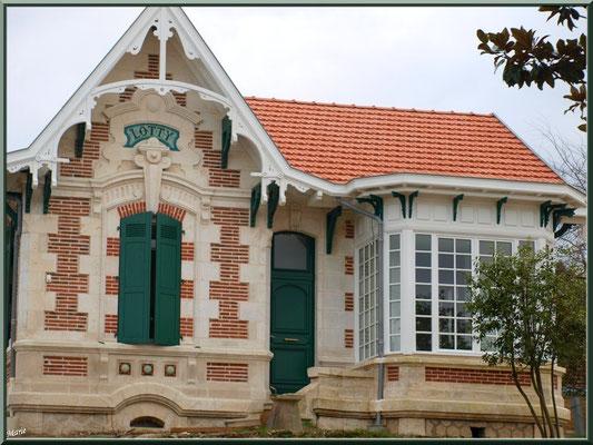 """Villa """"Lotty"""" (cours Desbiey) en """"Ville d'Hiver"""" à Arcachon"""
