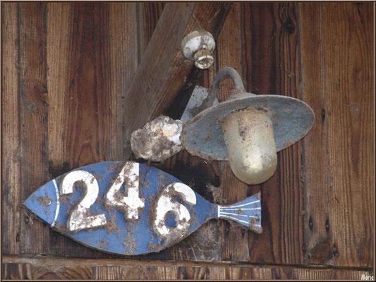Cabane 246, détail