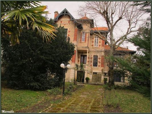 Villa Carlitas, Quartier du Moulleau, Arcachon (Bassin d'Arcachon - 33)