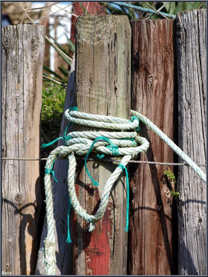 Amarrage à quai au port ostréicole (Cap Ferret)