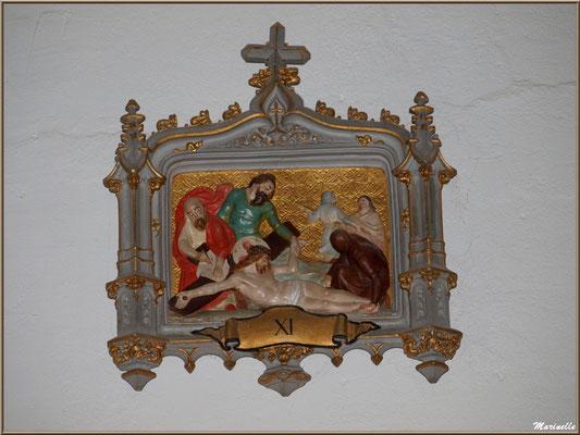 Chapelle Algérienne, Chemin de Croix étape XI,  Village de L'Herbe, Bassin d'Arcachon (33)