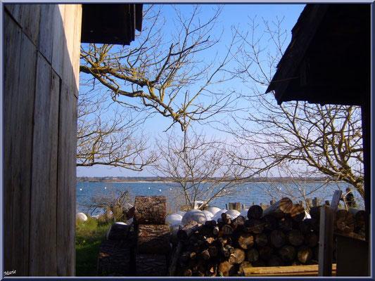 """Arcachon, """"Ville d'Automne"""" et son petit port de l'Aiguillon, le Bassin d'Arcachonn entres les cabanes"""
