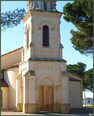 Eglise Saint-Eloi, façade, Andernos-les-Bains (Bassin d'Arcachon)