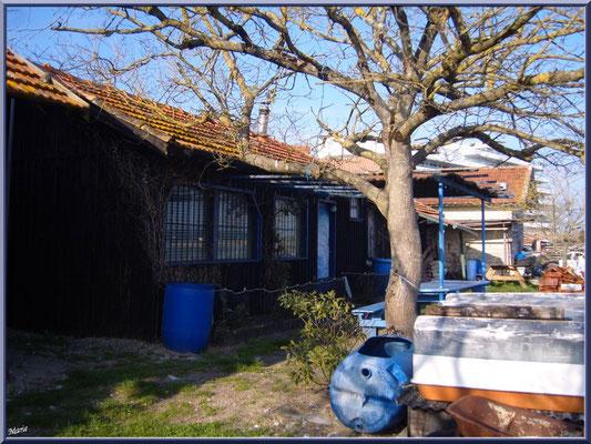 """Arcachon, """"Ville d'Automne"""" et son petit port de l'Aiguillon, cabanes ostréicoles"""