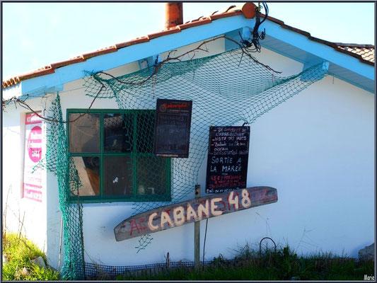 Cabane 48 au port ostréicole d'Andernos-les-Bains (Bassin d'Arcachon)