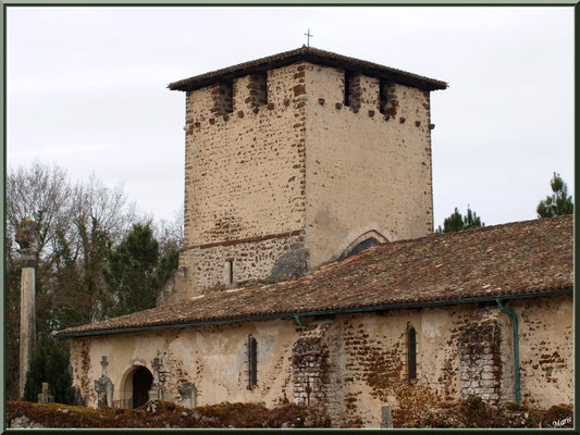 Eglise Saint Pierre de Mons à Belin-Beliet (Gironde)