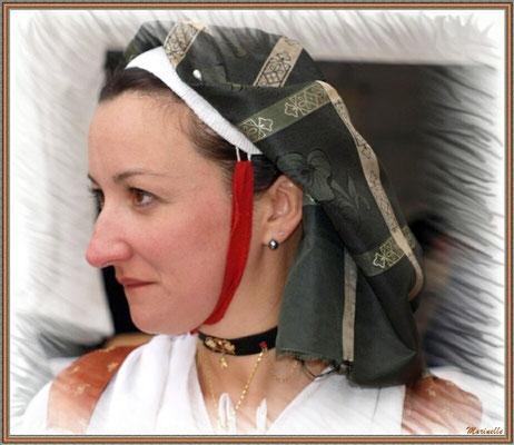 Ossaloise à la Fête au Fromage, Hera deu Hromatge, à Laruns en Vallée d'Ossau (64)