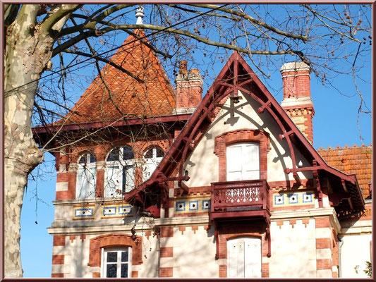 """La villa """"Teresa"""" en """"Ville d'Hiver"""" à Arcachon"""