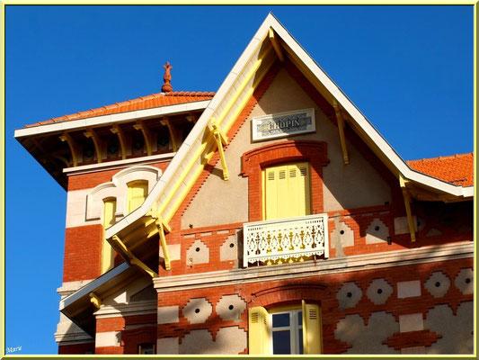 """Villa """"Chopin"""" en """"Ville d'Hiver"""" à Arcachon"""
