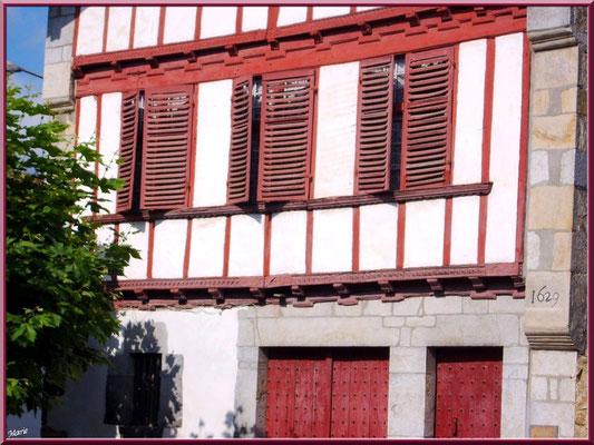 Aïnoha : vieille maison basque de 1629 (Pays Basque français)