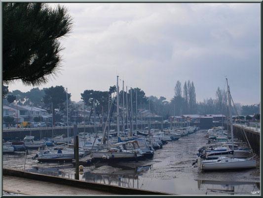 Port plaisance en habit neigeux (février 2012)
