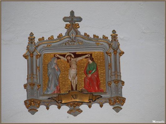 Chapelle Algérienne, Chemin de Croix étape XII,  Village de L'Herbe, Bassin d'Arcachon (33)