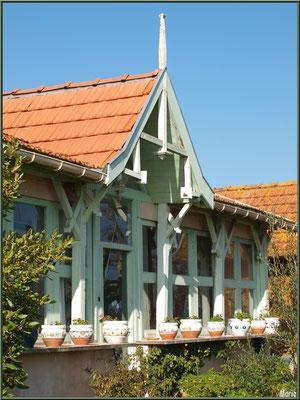 Maison sur le port ostréicole du Cap Ferret
