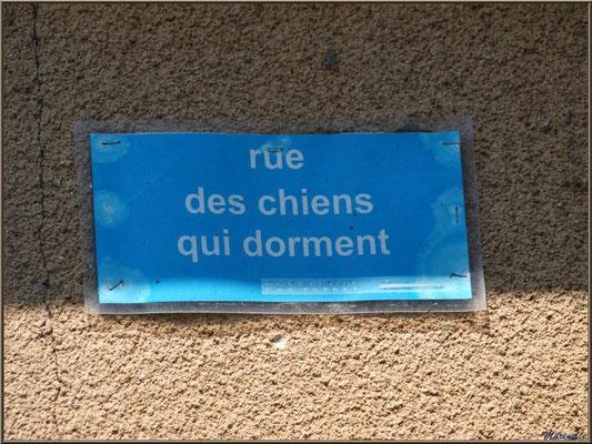 """Rue des chiens qui dorment"", Village de L'Herbe, Bassin d'Arcachon (33)"