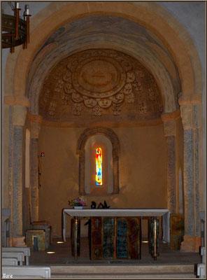 Eglise Saint-Eloi, l'autel, Andernos-les-Bains (Bassin d'Arcachon)