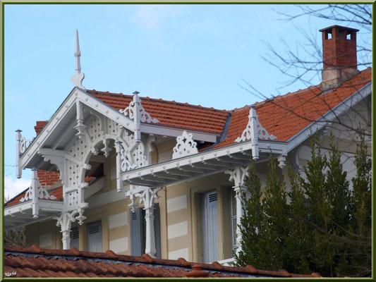 """La villa """"Trocadero"""" en """"Ville d'Hiver"""" à Arcachon"""