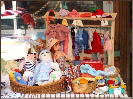 Etal tricots, Fête au Fromage, Hera deu Hromatge, à Laruns en Vallée d'Ossau (64)