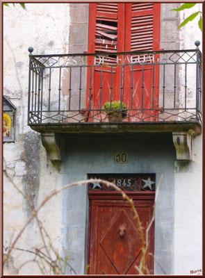 Maison abandonnée de 1845 à Uzdazubi-Urdax (Pays Basque espagnol)