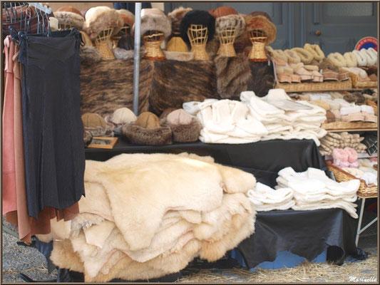 Etal fourrures, Fête au Fromage, Hera deu Hromatge, à Laruns en Vallée d'Ossau (64)