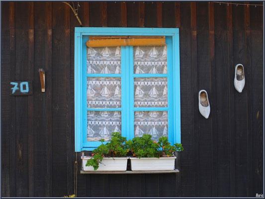 Maison 70 sur le port ostréicole du Cap Ferret (maison typique en bois)