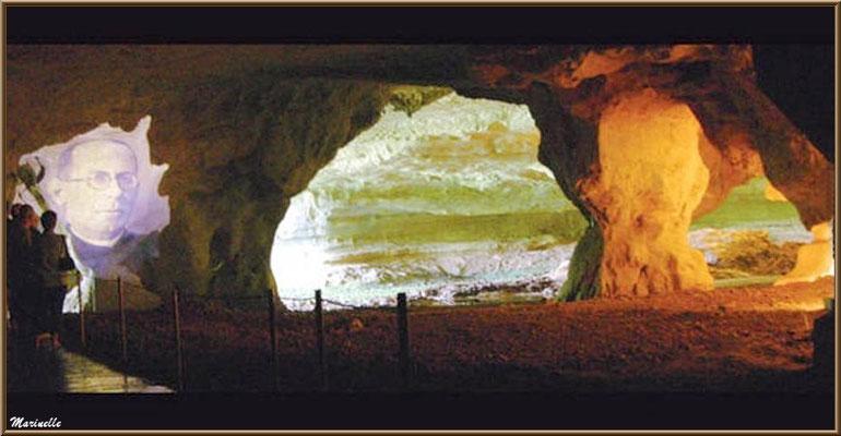 Les grottes de Sare : hommage à  JM de Barandiaran (Pays Basque français)