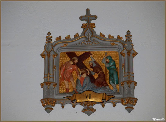 Chapelle Algérienne, Chemin de Croix étape VII,  Village de L'Herbe, Bassin d'Arcachon (33)