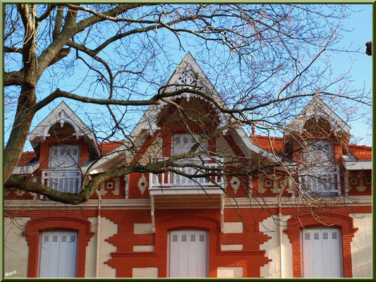 """Villa """"Hélène Emannuel"""" en """"Ville d'Hiver"""" à Arcachon"""