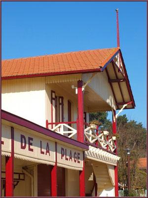 L'Hôtel de la Plage au Village de L'Herbe, Bassin d'Arcachon (33)