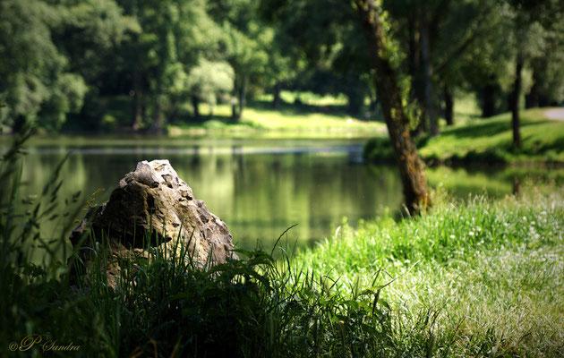 Auvergne ... Plan d'eau du Mas à Issoire ... 05.11