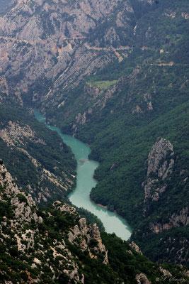 Gorges du Verdon ( vers l'entrée du grand canyon ) 09.07.13