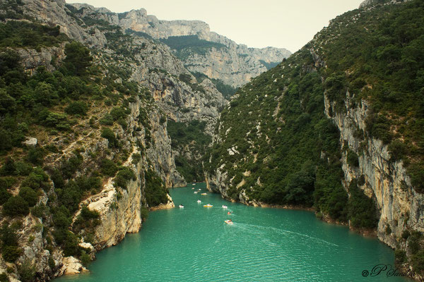 Gorges du Verdon  (lac de St Croix) 09.07.13