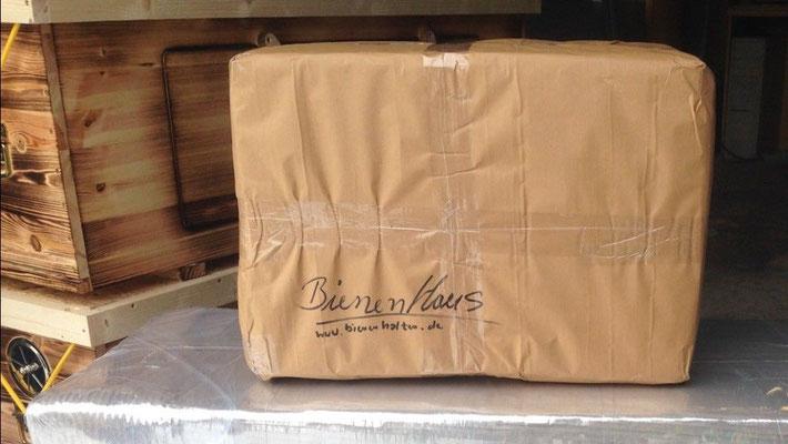 Kuntzsch Hoch Rähmchen fertig verpackt für den Versand