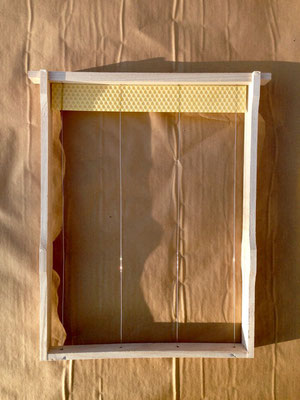 Kuntzsch Hoch Rahmen mit Mittelwand-Streifen