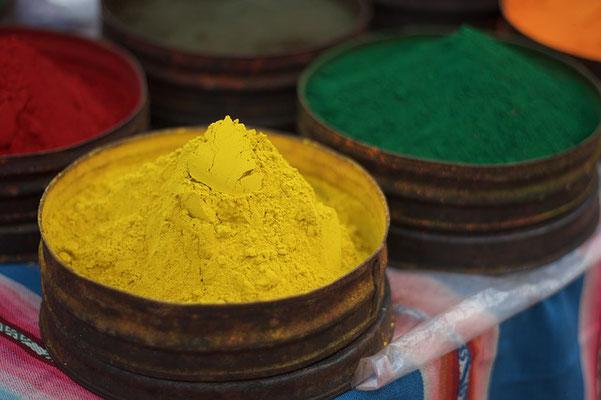 Farbpigmente zum einmischen mit Leinölfirnis