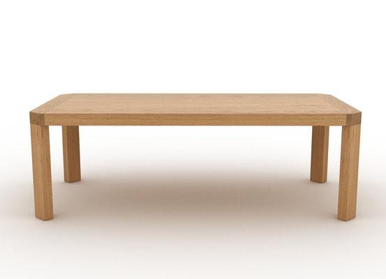 table en chêne massif 230cmX120cm