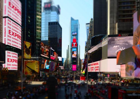 Times Square, 2018 – Manhattan, NYC