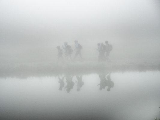 Walking in the Mist, 2019 – Seeblisee, Hoch-Ybrig, Switzerland