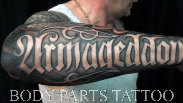 tattoo schriften arm