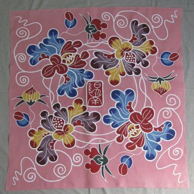 ピンク色 牡丹とつぼみ 陽南様