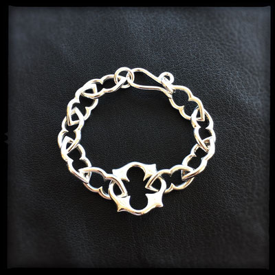 Magic Link Bracelet - Sterling Silver