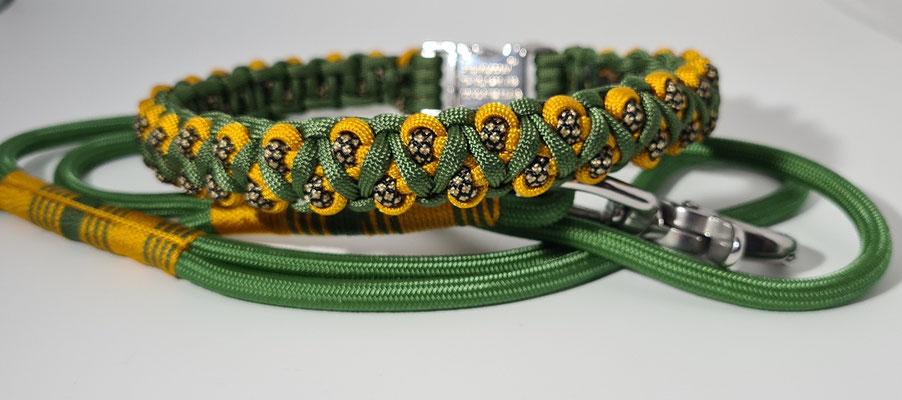 Leine 6mm Premium, Halsband 2cm