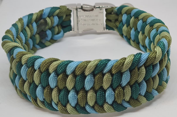 Seegrün, Carolina Blue, Guacamole, Ferngreen
