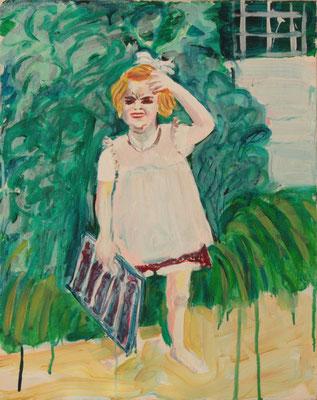 Kind, oil on canvas, 50 x 40 cm, 2005